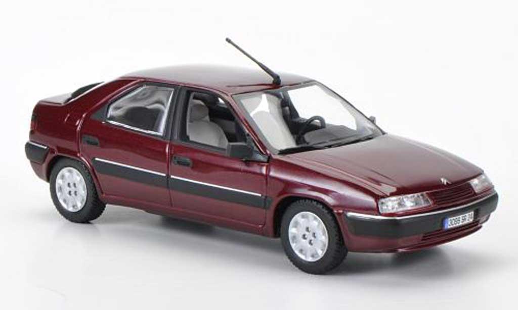 Citroen Xantia 1/43 Norev rouge 1993