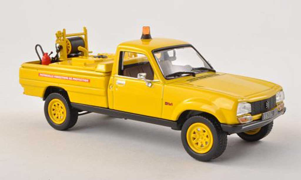 Peugeot 504 Pick up 1/43 Norev CCF Forestiers Pompiers 1979 miniature