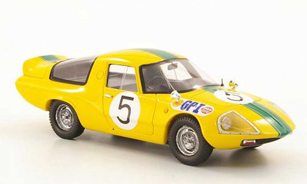 Daihatsu P3 1/43 Ebbro No.5 GP Japan 1966 miniature