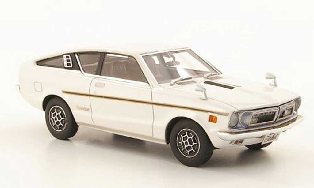 Nissan Sunny 1/43 Hi Story Coupe GX white RHD 1973