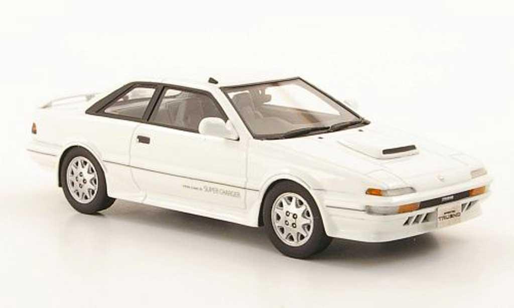 Toyota Trueno 1/43 Hi Story Sprinter GT-Z blanche RHD 1989 miniature