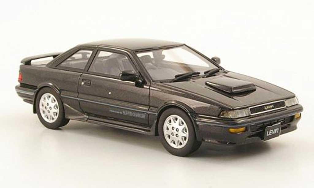 Toyota Corolla Levin 1/43 Hi Story GT-Z noire RHD 1989 miniature