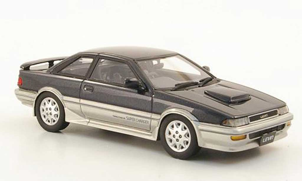 Toyota Corolla Levin 1/43 Hi Story GT-Z anthrazit/grise RHD 1989 miniature