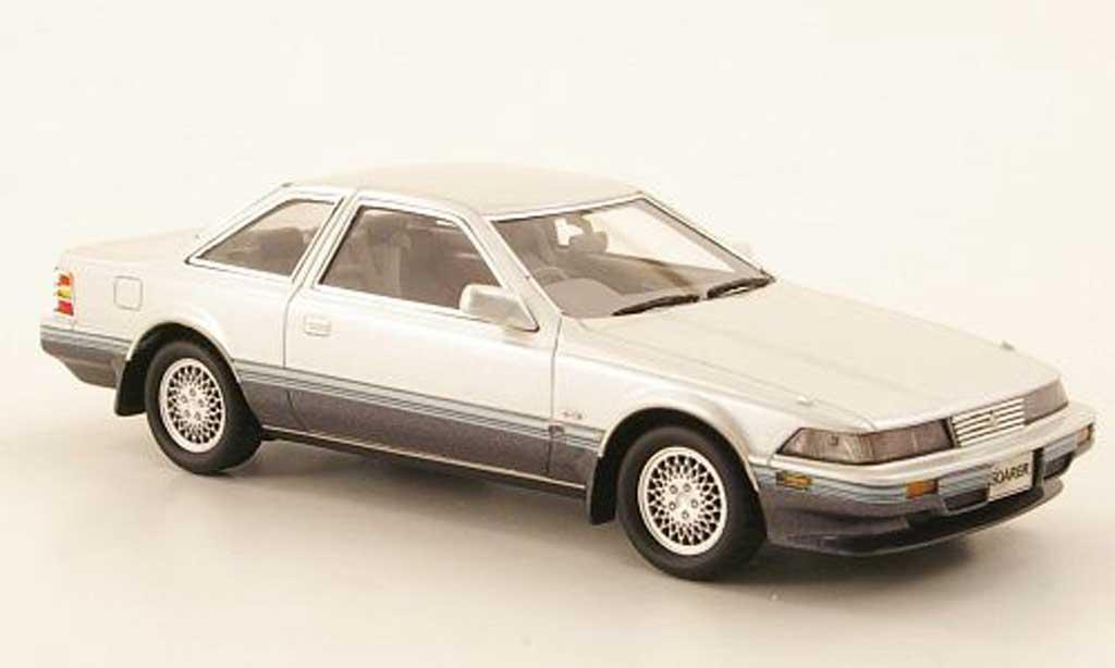 Toyota Soarer 1/43 Hi Story 3.0 GT Turbo blanche/grise RHD 1988 miniature