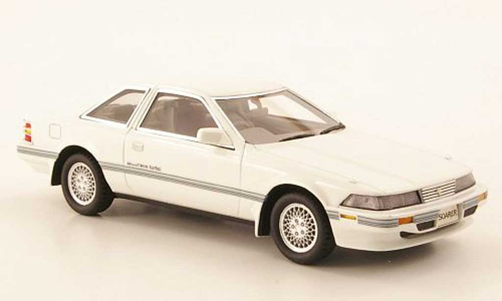 Toyota Soarer 1/43 Hi Story 2.0 GT Twin Turbo blanche RHD 1988 miniature