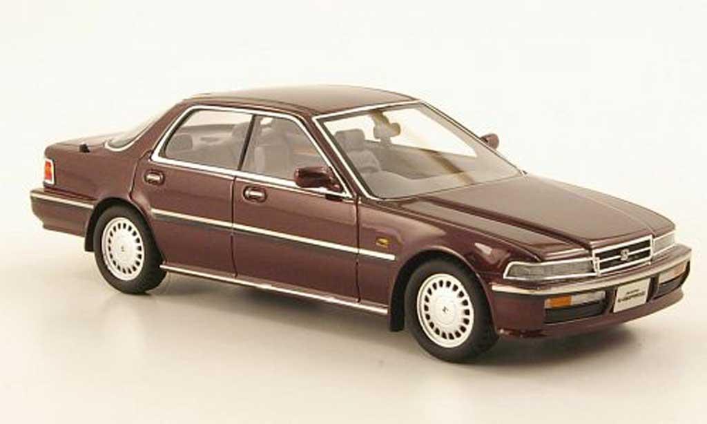 Honda Accord Inspire 1/43 Hi Story AX-i rouge RHD 1989 miniature