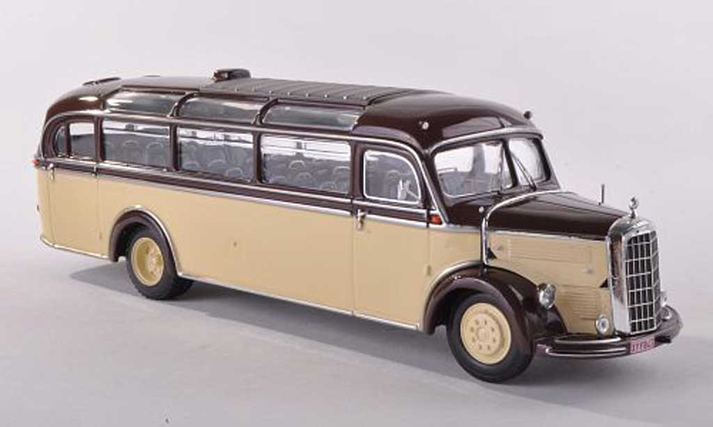 Mercedes L3500 1/43 Minichamps bus Sadar 1950 miniature