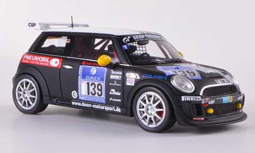 Mini Cooper VLN 1/43 Minichamps No.139 Dorr Motorsport Hahn / Holoch / Konrad / Penno 24h ADAC Nurburgring 2011 miniature