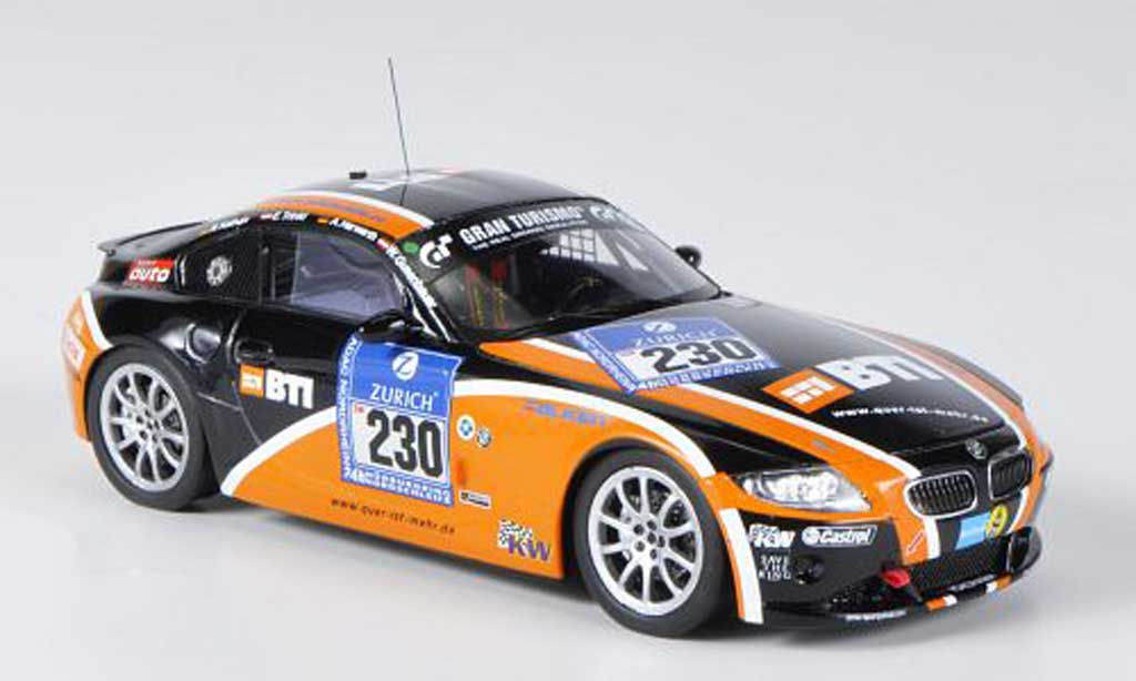 Bmw Z4 E89 1/43 Minichamps Coupe No.230 BTI 24h Nurburgring 2011 miniature