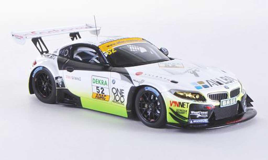 Bmw Z4 E89 1/43 Minichamps GT3 No.52 Westcoast Racing F.Lestrup / L.Stugemo ADAC GT Masters-Saison 2011