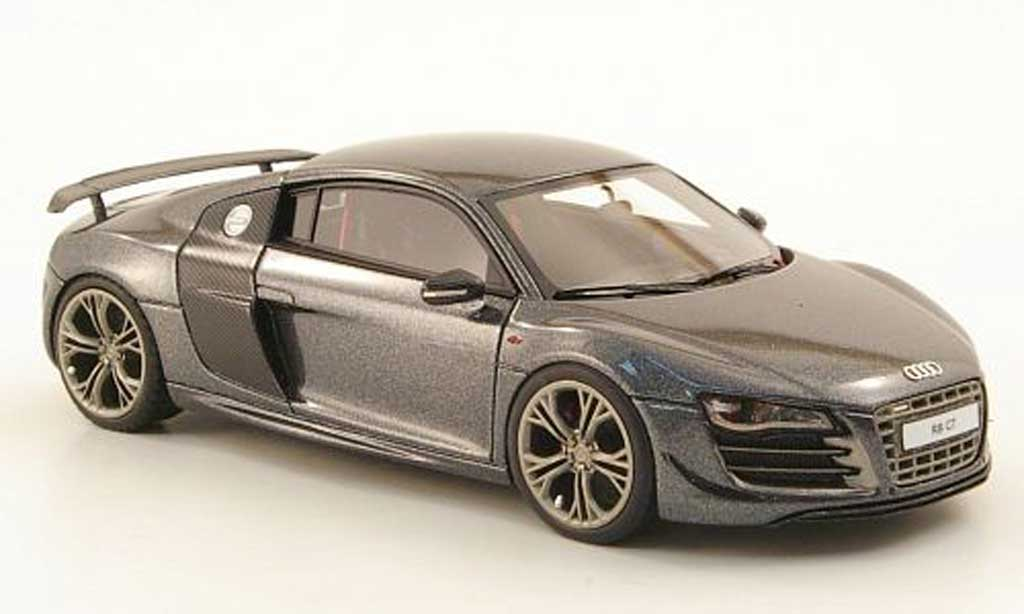 Audi R8 GT 1/43 Look Smart dkl.grise miniature