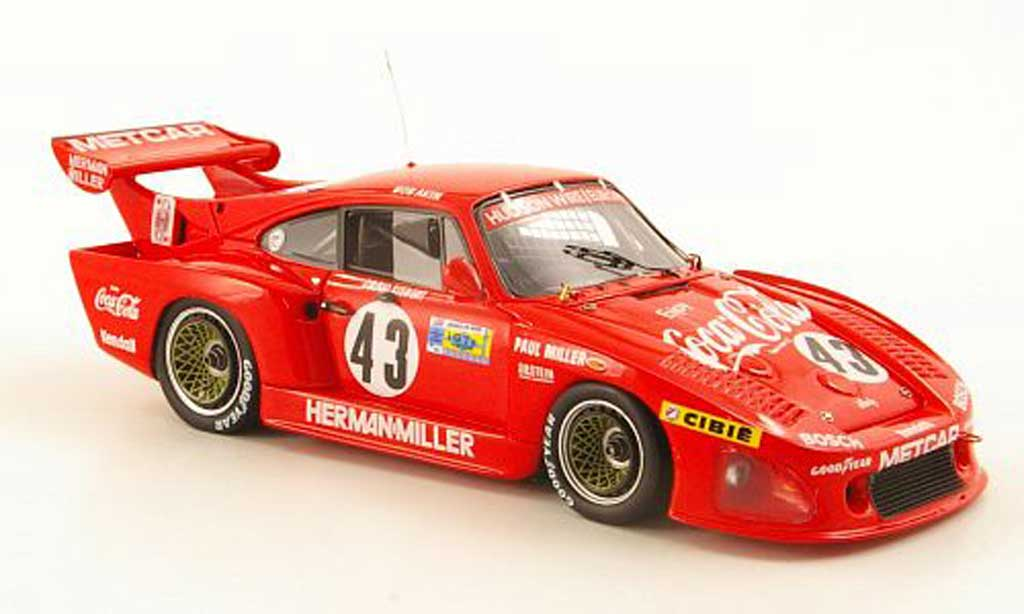 Porsche 935 1981 K3 No.43 Coca-Cola B.Akin 24h Le Mans TrueScale Miniatures. Porsche 935 1981 K3 No.43 Coca-Cola B.Akin 24h Le Mans Coca Cola miniature 1/43