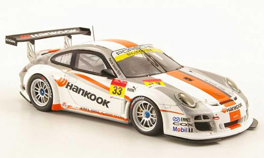 Porsche 997 GT3 R 2011 No.33 Hankook Super GT300 Ebbro. Porsche 997 GT3 R 2011 No.33 Hankook Super GT300 Super GT300 modellauto 1/43