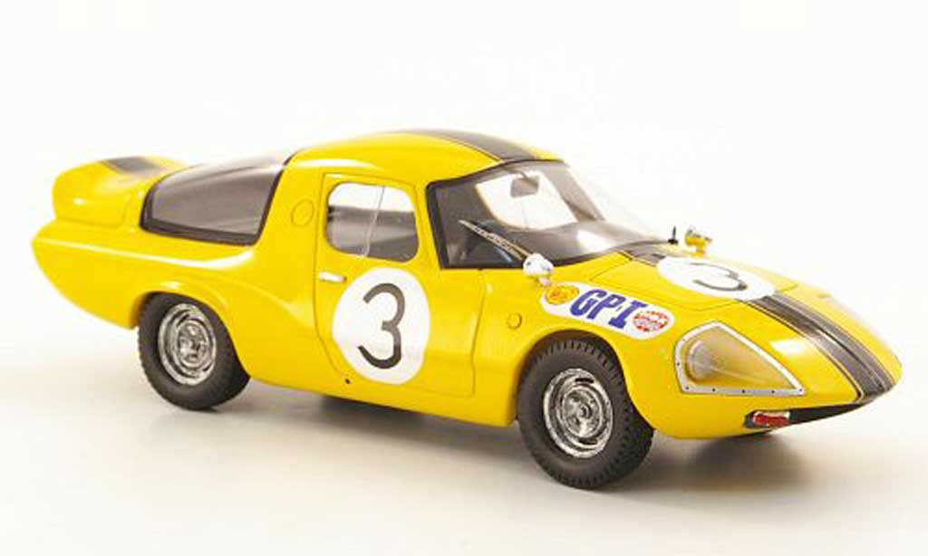 Daihatsu P3 1/43 Ebbro No.3 GP Japan 1966 miniature