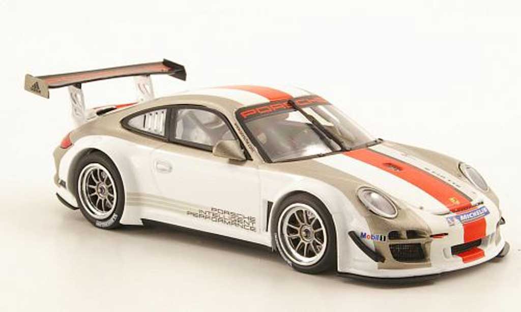 Porsche 997 GT3 R 2011 1/43 Minichamps (II) Prasentationsmodell miniature