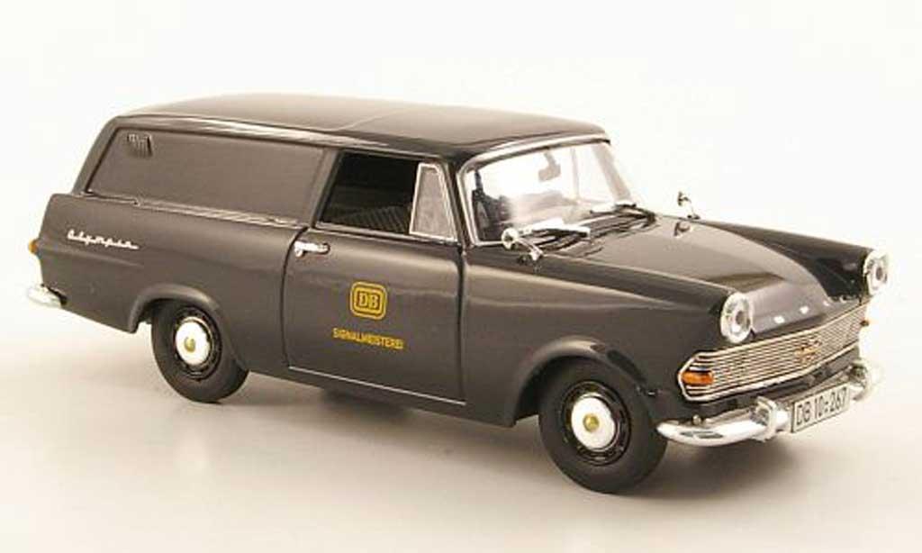 Opel Rekord 1/43 Bing P2 Kasten DB-Signalmeisterei miniature