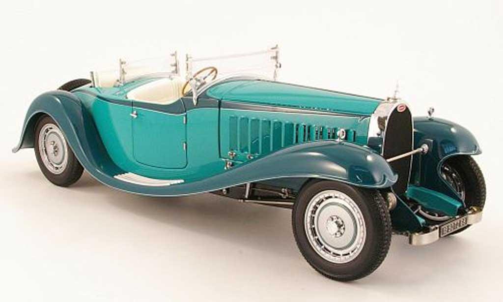 Bugatti Roadster Esders 1/18 Bauer grun 1932 miniature