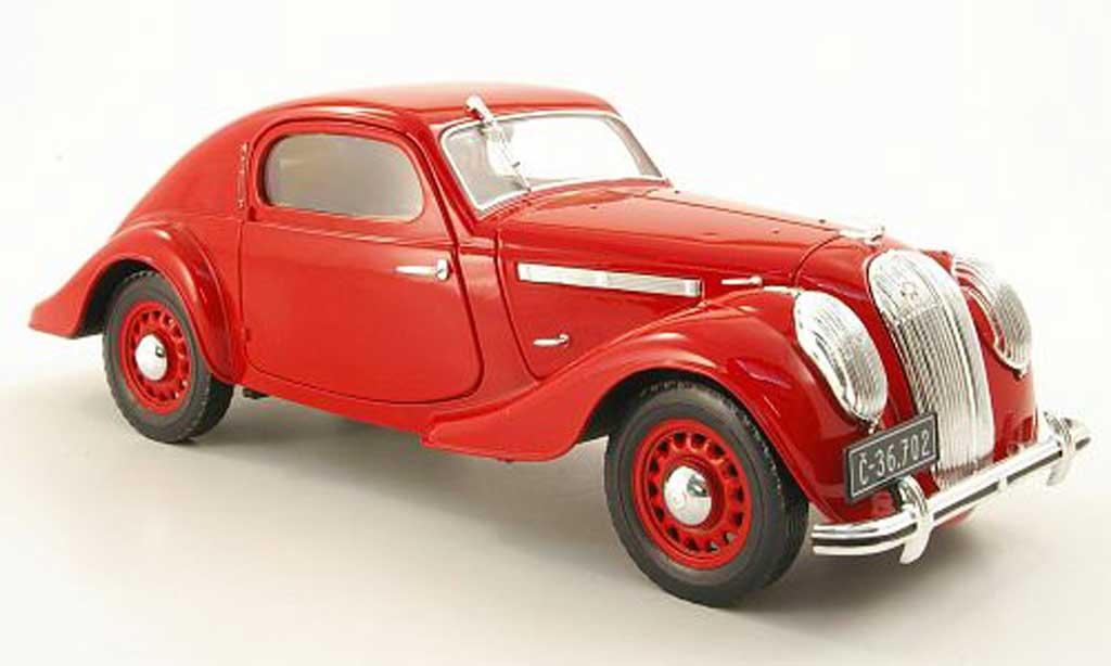 Skoda Popular 1/18 Abrex SportMonte Carlo rouge 1935 miniature