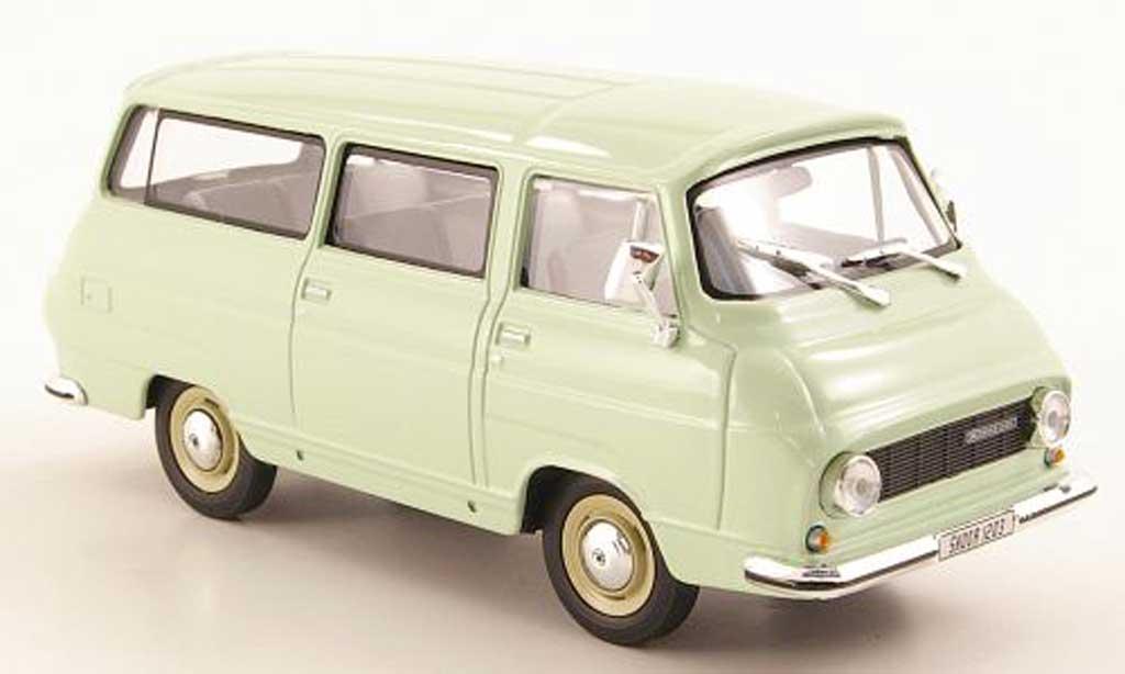 Skoda 1203 1/43 Abrex Lieferwagen grun miniature
