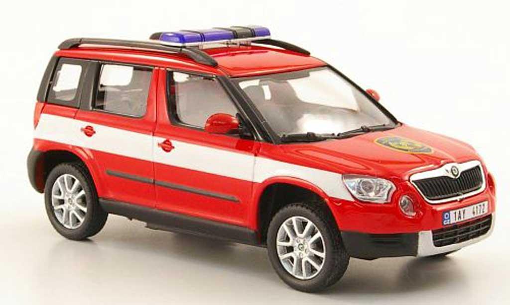 Skoda Yeti 1/43 Abrex Hasici Feuerwehr Tschechien miniature