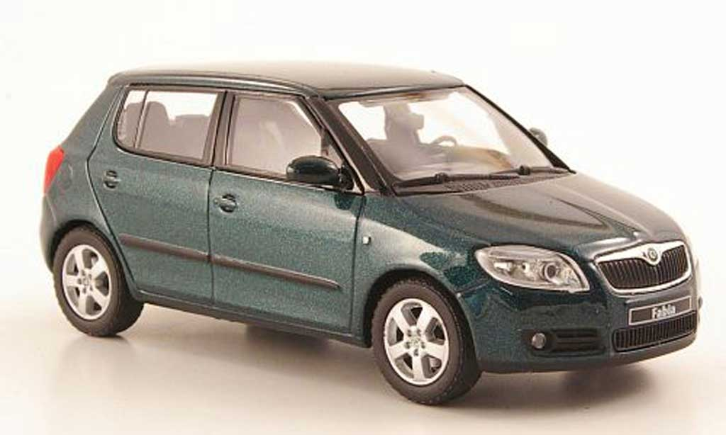 skoda fabia ii green 2006 abrex diecast model car 1 43 buy sell diecast car on. Black Bedroom Furniture Sets. Home Design Ideas