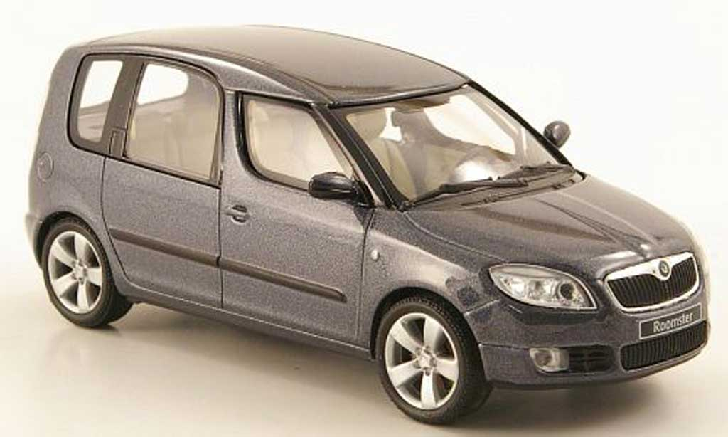 Skoda Roomster 1/43 Abrex grise 2006 miniature