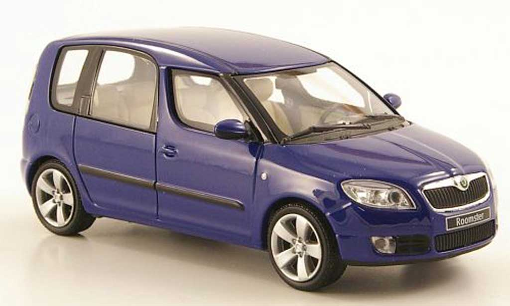 skoda roomster blau 2006 abrex modellauto 1 43 kaufen verkauf modellauto online. Black Bedroom Furniture Sets. Home Design Ideas
