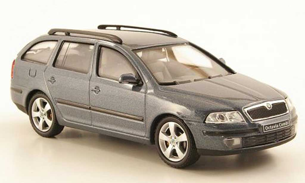 skoda octavia combi grau abrex modellauto 1 43 kaufen verkauf modellauto online. Black Bedroom Furniture Sets. Home Design Ideas