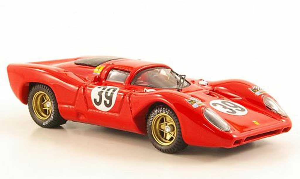 Ferrari 312 P 1/43 Best No.39 N.A.R.T. 24h Le Mans 1970 miniature