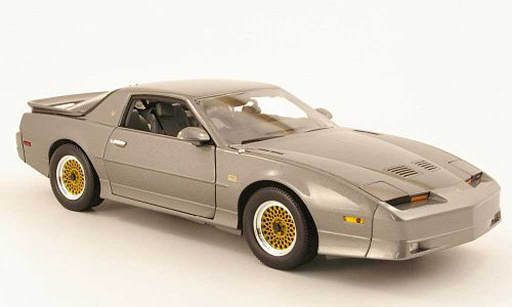 Pontiac Trans Am 1/18 Greenlight GTA grise 1988