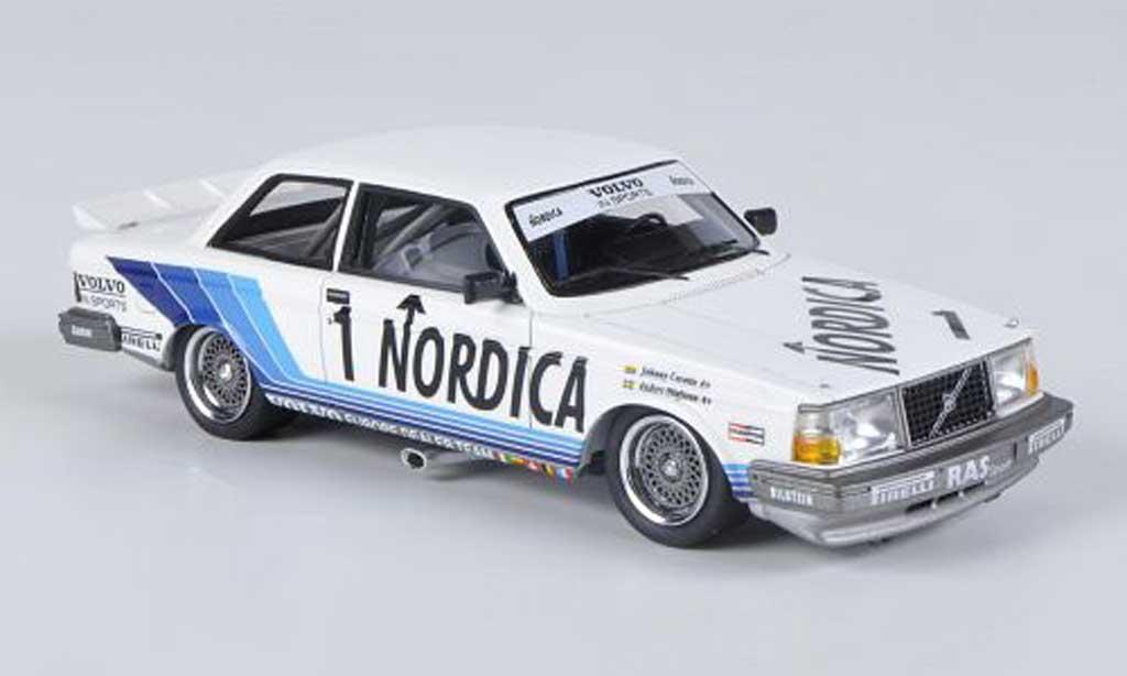Volvo 240 Turbo 1/43 Neo Gr.A No.1 Nordica RAS Sport J.Cecotto / A.Olofsson ETCC Zolder 1986