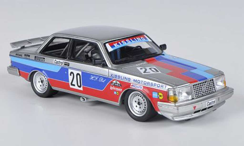 Volvo 240 Turbo 1/43 Neo Gr.A Team Kissling H.-F.Peil DTM limited edition 1985 miniature