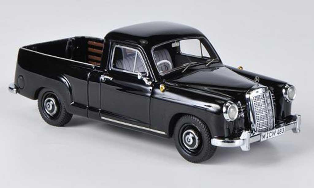 Mercedes 180 1/43 Neo (W120) Bakkie noire limitierte Auflage 300 miniature