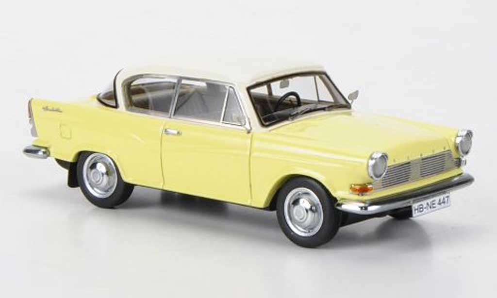Lloyd Arabella 1/43 Neo jaune/blanche 1960 miniature