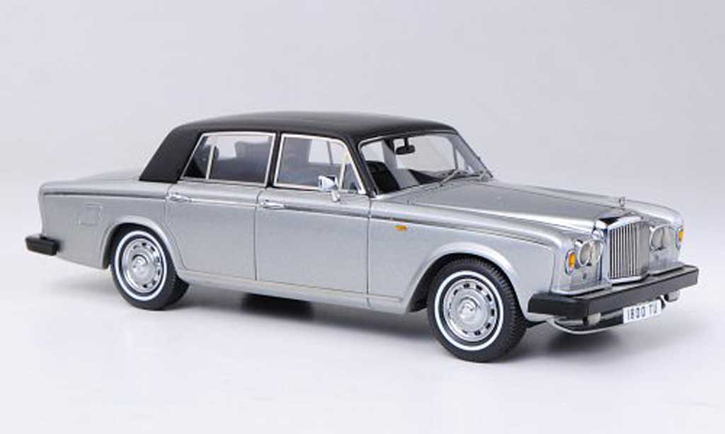 Bentley T2 1/43 Neo grise/mattnoire RHD 1977 miniature