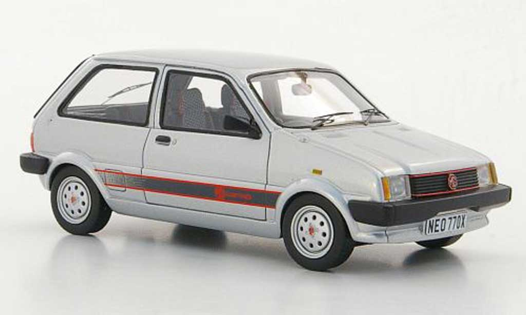 Mg Metro 1300 Mki Gray Rhd 1982 Neo Diecast Model Car 1 43