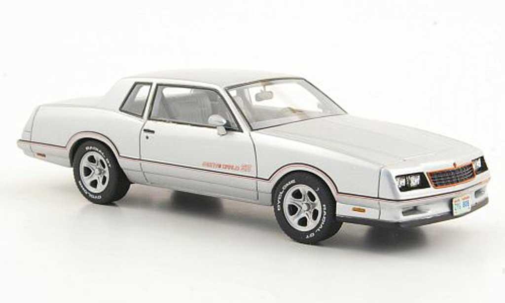 Chevrolet Monte Carlo 1/43 American Excellence SS grise limitierte Auflage 500 1986 miniature