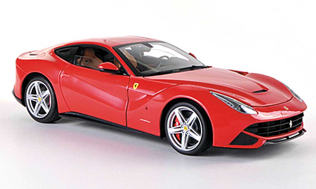 Ferrari F12 1/18 Hot Wheels Elite Berlinetta rouge (Elite) miniature