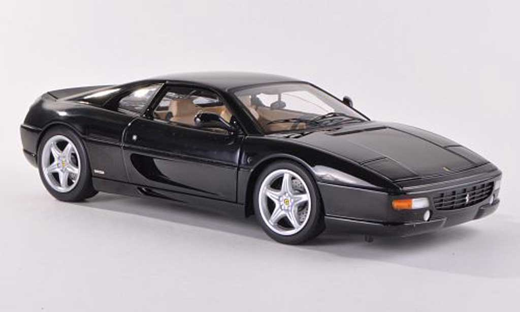 Miniature Ferrari F355 Berlinetta noire (Elite) Hot Wheels Elite. Ferrari F355 Berlinetta noire (Elite) miniature 1/18