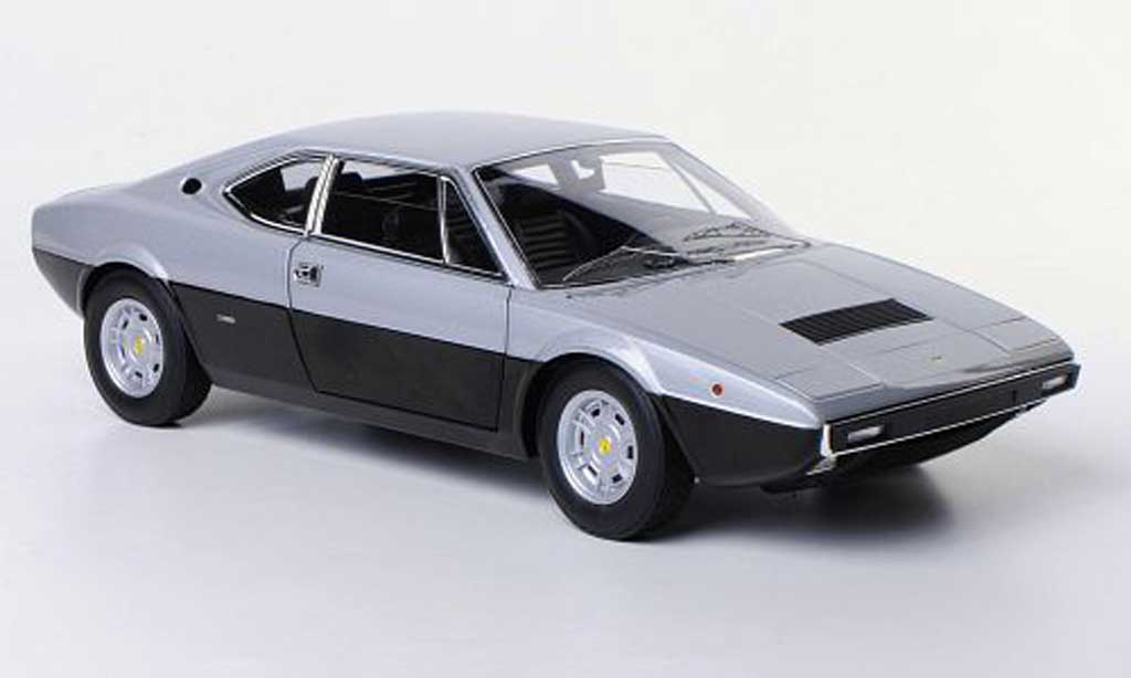 Ferrari 308 GT4 1/18 Hot Wheels Elite grau/schwarz modellautos