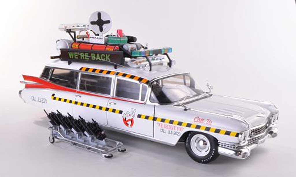 Cadillac Ecto 1A 1/18 Hot Wheels Elite Ghostbusters II (Elite) miniature