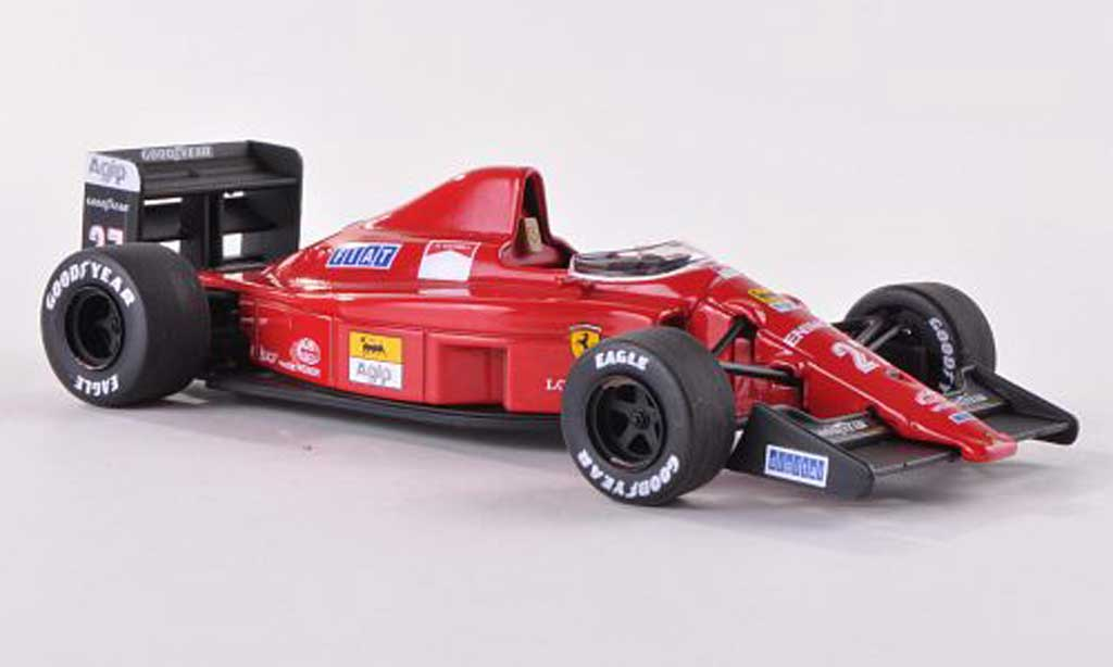 Ferrari F1 1989 1/43 Hot Wheels Elite (640) No.27 GP Ungarn (Elite) miniatura