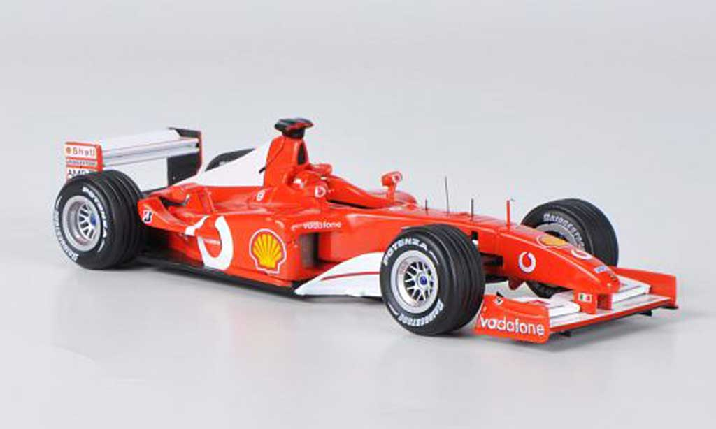 Ferrari F1 F2002 1/43 Hot Wheels Elite No.1 M.Schumacher GP Frankreich (Elite) miniature