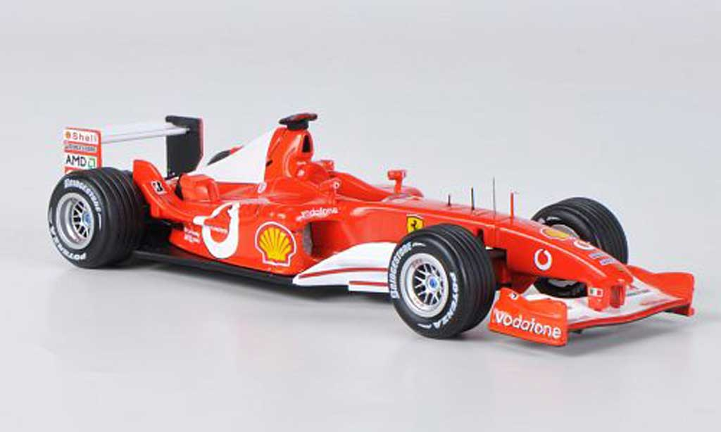Ferrari F1 F2003 1/43 Hot Wheels Elite F2003 GA No.1 M.Schumacher GP Italien (Elite) 2003 miniature