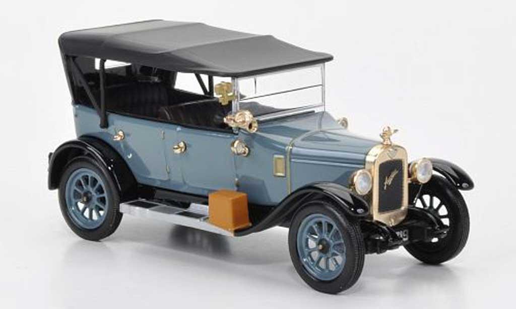 Austin 12 1/43 Oxford /4 bleugrise/noire ''Heavy Twelve-Four'' miniature