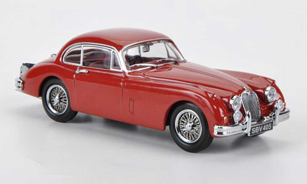 Jaguar XK 150 1/43 Oxford FHC rouge miniature