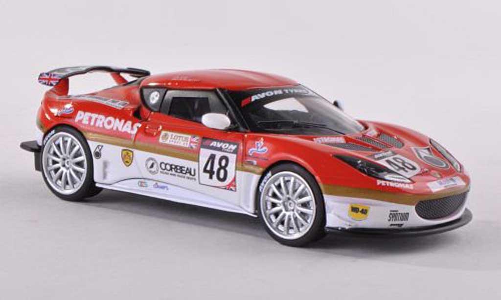Lotus Evora GT4 1/18 Corgi No.48 Britannique GT Championship 2012 P.Glew/S.Bolisetti miniature