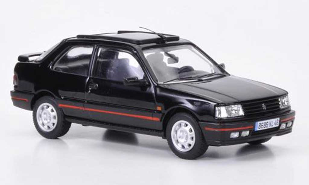 Peugeot 309 GTI 1/43 Vanguards MkII schwarz LHD modellautos