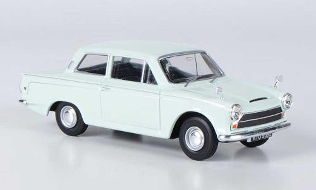 Ford Cortina 1/43 Vanguards MkI Super grun miniature