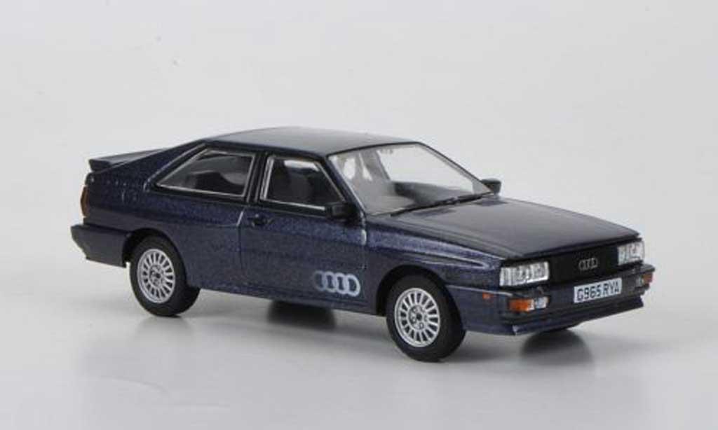 Audi Quattro 1/43 Vanguards MkII 20V greybleu RHD 1990 diecast model cars